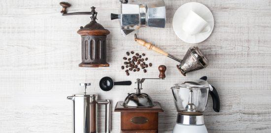 コーヒーを淹れる道具たち