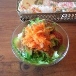 CafeOREOでのランチセットサラダ