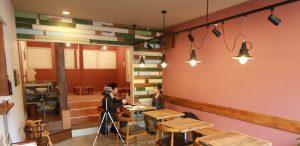 caffe LOCASAさんのインタビュー風景