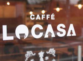 caffe LOCASAさん ショップロゴ