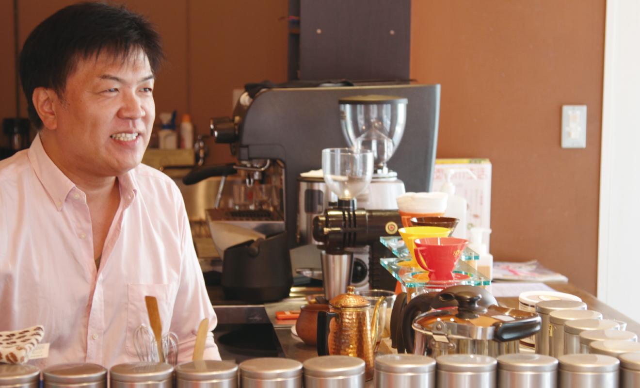 SHIBACOFFEEの店主、柴田さんにお話をうかがいました