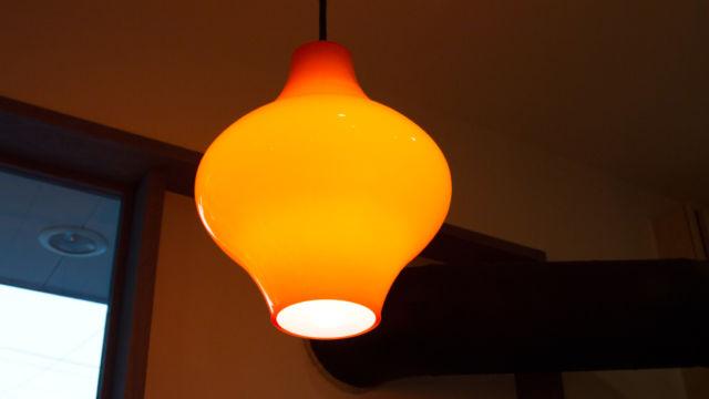 Cafe Blanco の照明