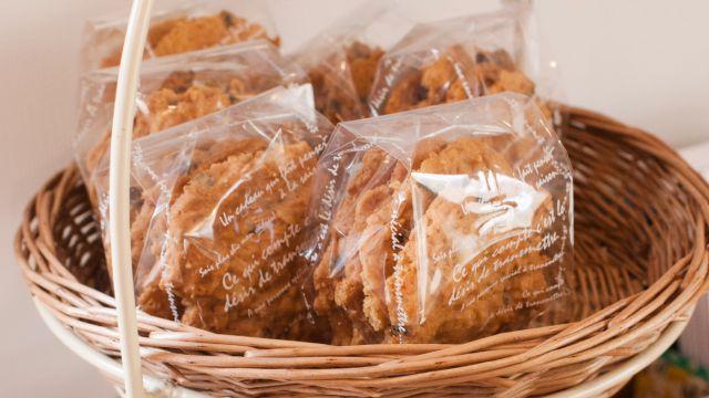 Home made sweets akiko's field ナッツの入ったクッキー