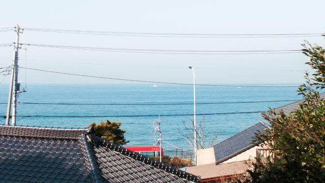 Cafe海遊魚さん 安房の風景